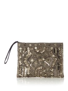 Label Lab Pippa beaded pouch