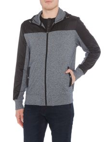 Michael Kors Liq nylon miz zip through hoody