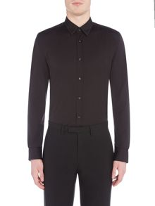 Hugo Elisha Regular Fit Stud Collar Shirt