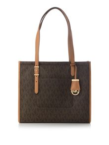Michael Kors Darien signature print medium tote bag
