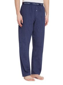 Calvin Klein Flannel Blue Shadow Pyjama Bottoms