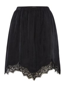 Label Lab Glenn cupro skirt