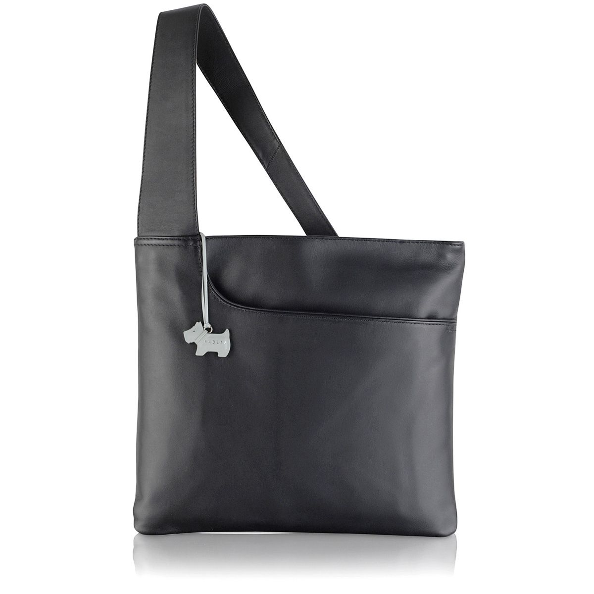 Radley Pocket bag large ziptop acrossbody bag Black