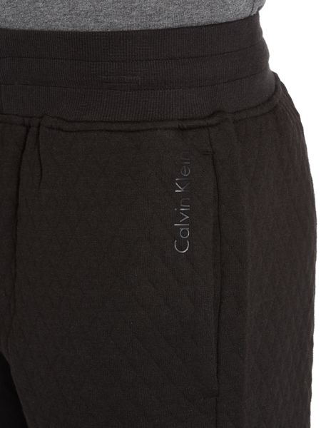 Calvin Klein Sculpture Quilted Cuffed Tracksuit Bottoms