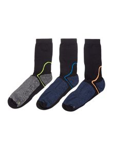 Criminal 3 Pack Technical Sport Socks