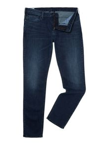 Armani Jeans J06 used slim fit mid wash jeans