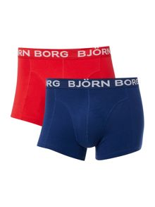 Bjorn Borg 2 Pack Solid Trunk