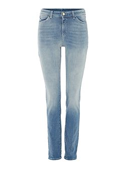 J18 dahlia high rise slim jean in blu