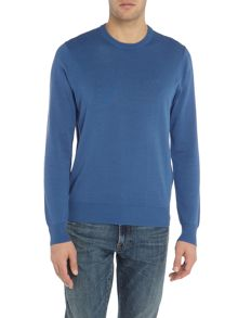 Armani Jeans Crew neck cotton jumper
