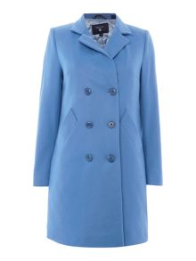 Gant Blue wool press coat