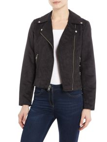 Andrew Marc Faux suede jacket