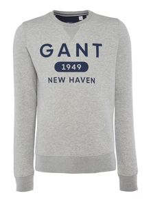Gant Athletic Crew-Neck Jumper