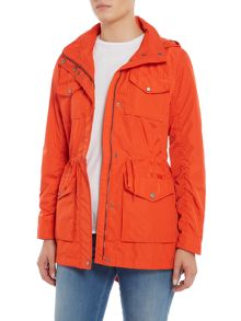 Andrew Marc Lightweight hooded parka