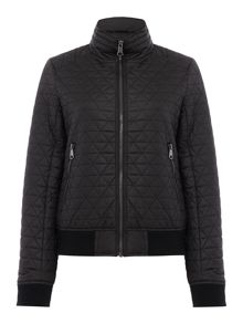 Andrew Marc Quilted bomber jacket