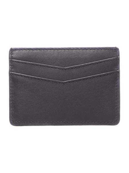 Lyle and Scott Leather Cardholder