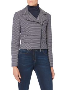 Armani Jeans Diagonal zip jacket with collar