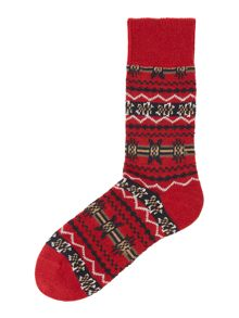 Barbour Fairisle Socks