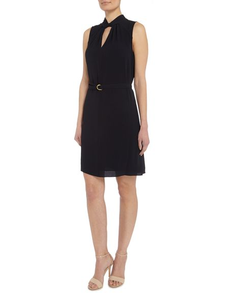 Michael Kors Sleeveless Detailed Tunic Dress