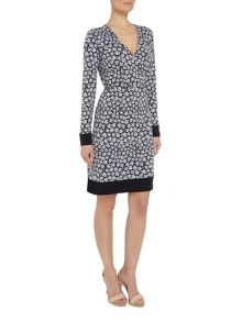 Michael Kors Bayeux Longsleeve Wrap Dress