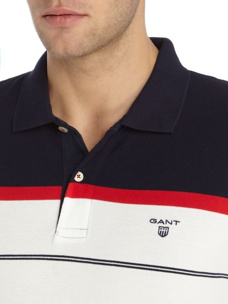 Gant Multi striped polo shirt
