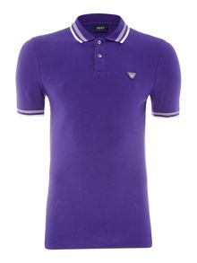 Armani Jeans Double tipped polo shirt