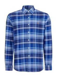 Polo Ralph Lauren Custom fit long sleeve windowpane check oxford