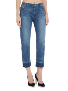Michael Kors Straight Leg Released Hem Jeans