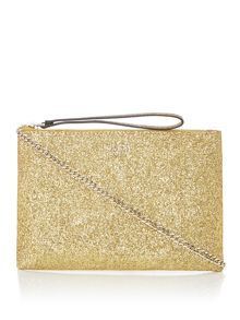 Guess Eletric party clutch cross body bag