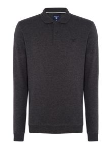 Gant Smart Long-Sleeve Cotton Polo-shirt