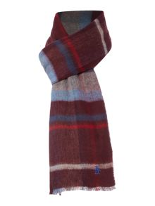 Original Penguin Reversible Plaid Scarf