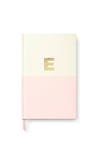 Kate Spade New York Dipped Initial E Notebook