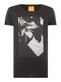 Torvind graphic flower print t-shirt