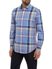 Polo Ralph Lauren Slim fit checked long sleeve shirt