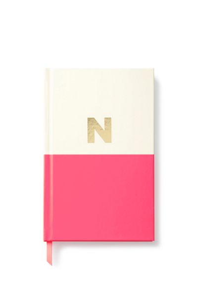 Kate Spade New York Dipped Initial N Notebook
