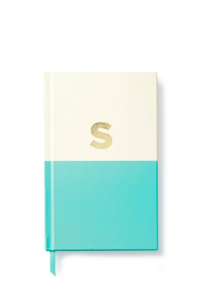 Kate Spade New York Dipped Initial S Notebook