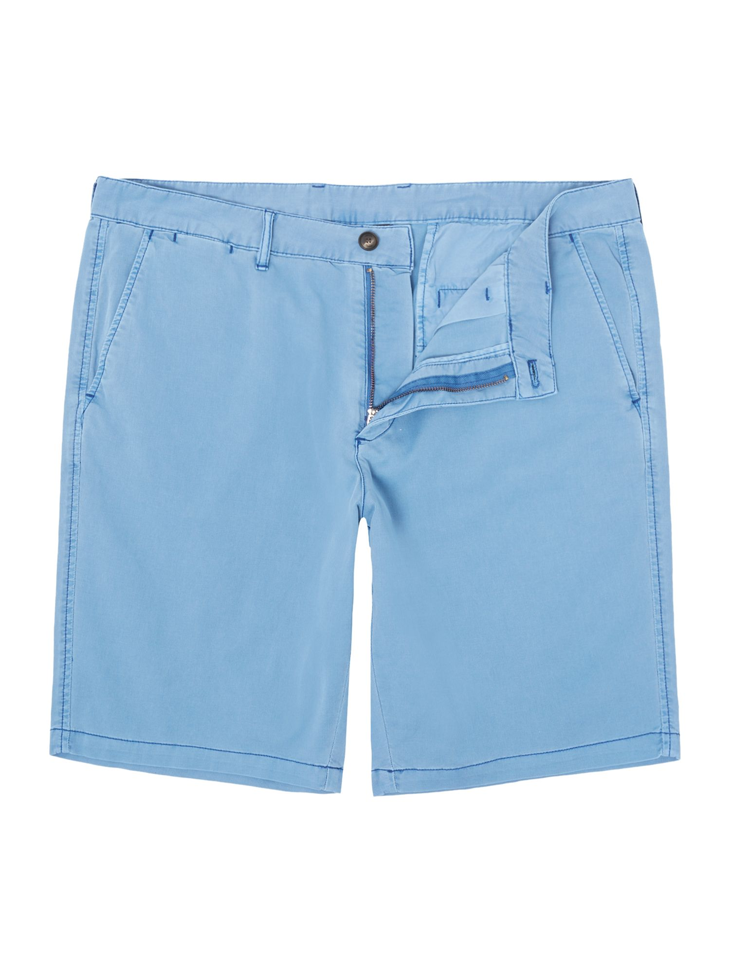 Mens Armani Jeans Twill shorts Light Blue