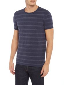 Hugo Boss Tex space dye striped t-shirt
