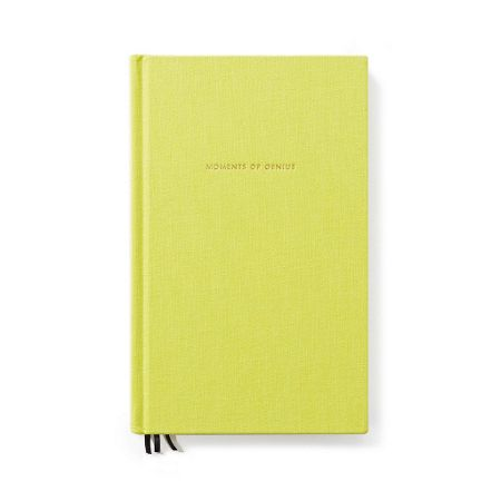 Kate Spade New York Light Green `Moments of genius` Journal