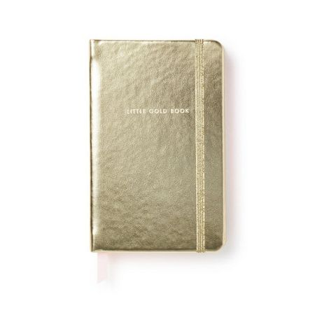 Kate Spade New York Little Gold Medium Notebook
