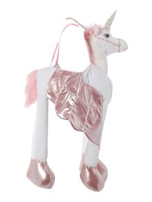 Travis Designs Girls Ride On Unicorn Fancy Dress Toy