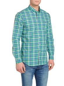 Polo Ralph Lauren Custom fit bright check long sleeve shirt