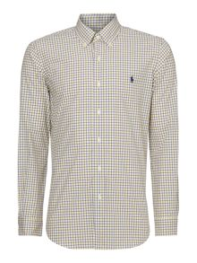 Polo Ralph Lauren Custom fit 2 colour gingham long sleeve shirt