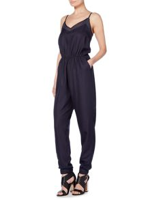 Label Lab Marlowe textured Jumpsuit