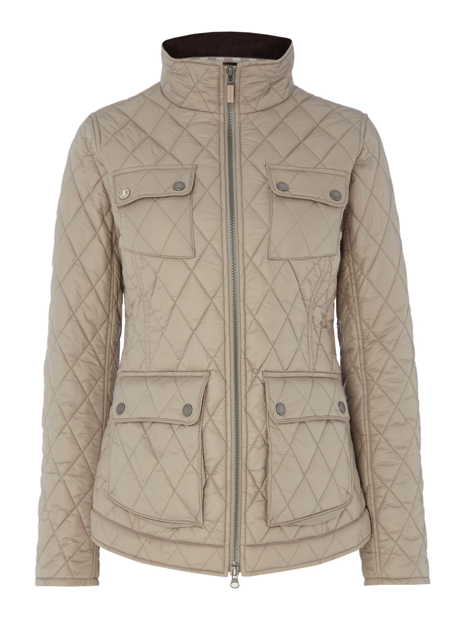 Barbour Barbour dolostone quilt Taupe