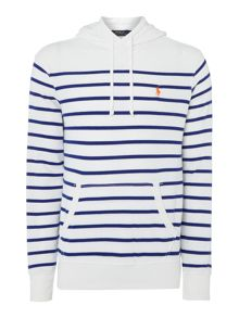 Polo Ralph Lauren Overhead stripe hoodied jumper