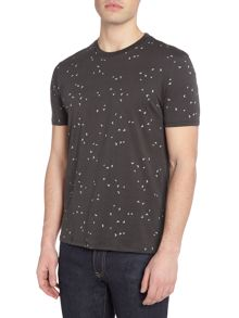 Armani Jeans Regular fit all over eagle print t-shirt