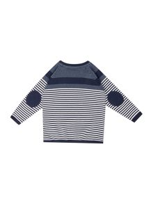 name it Boys Stripe Long Sleeve Jumper