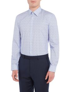 Ted Baker Muse Ditsy Leaf Print Shirt