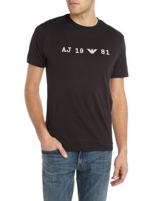 Armani Jeans Regular fit text logo t-shirt