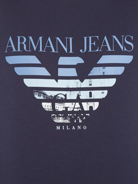 Armani Jeans Regular fit milano eagle t-shirt